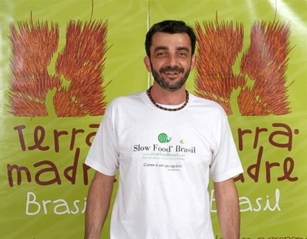 Chef Ivan Sartorato no Terra Madre Brasil - Foto: Silvio Quirino