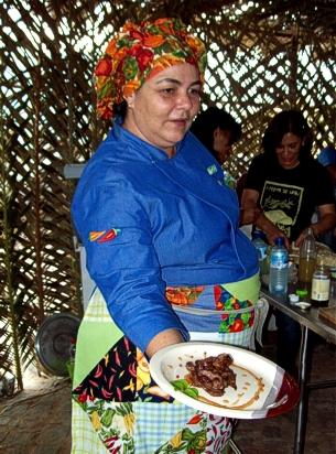 Chef Adriana Lucena na Festa do Umbu - Foto: COOPERCUC